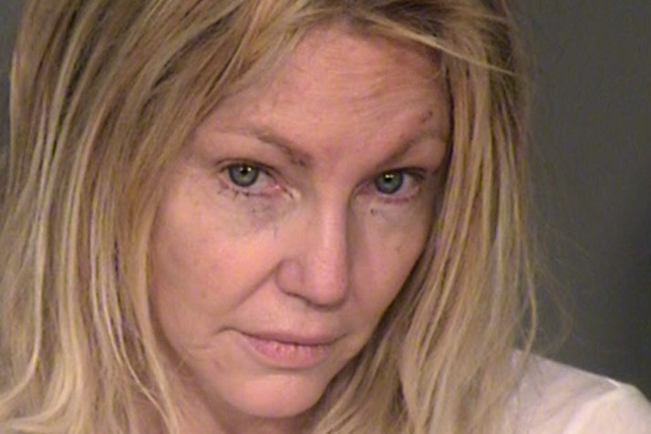 Heather Locklear arrested for allegedly attacking police officer and