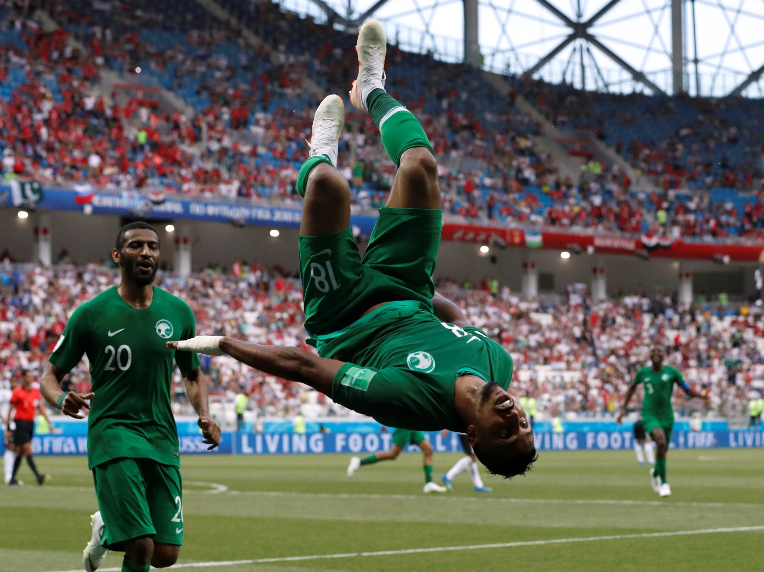 World Cup 2018: Salem Al-Dawsari Earns Saudi Arabia