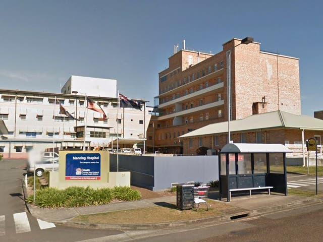Manning Rural Referral Hospital in Taree, NSW, where Dr Gayed worked