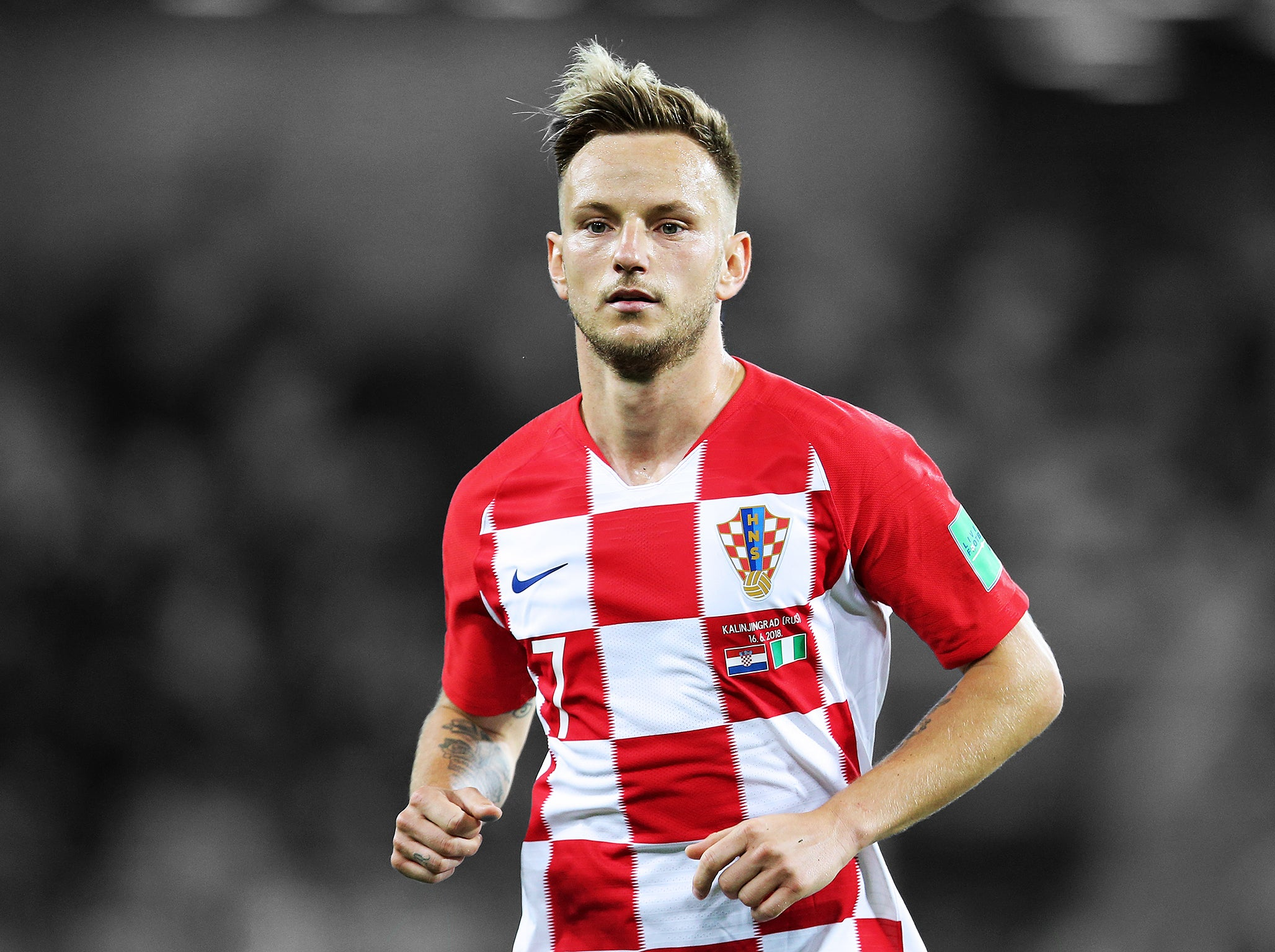 814c6e8e656 ... discount code for iceland vs croatia world cup 2018 ivan rakitic and  luka modrics b4a30 405da