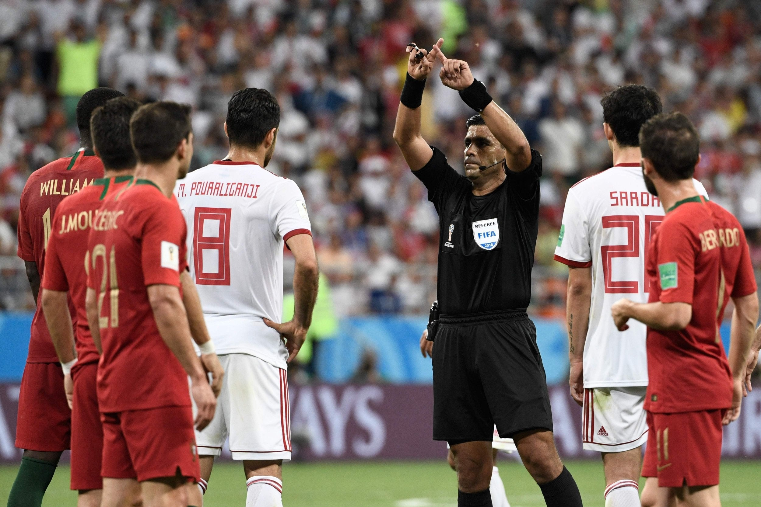 World Cup 2018: How VAR completely changed Group B for Portugal and Spain in 120 very controversial seconds