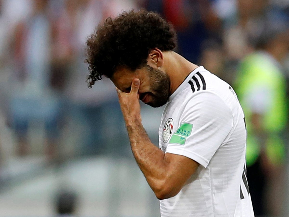 World Cup 2018: No problems, no points, no happiness - Mohamed Salah slips  into the shadows shrouded in sadness and controversy   The Independent    The Independent