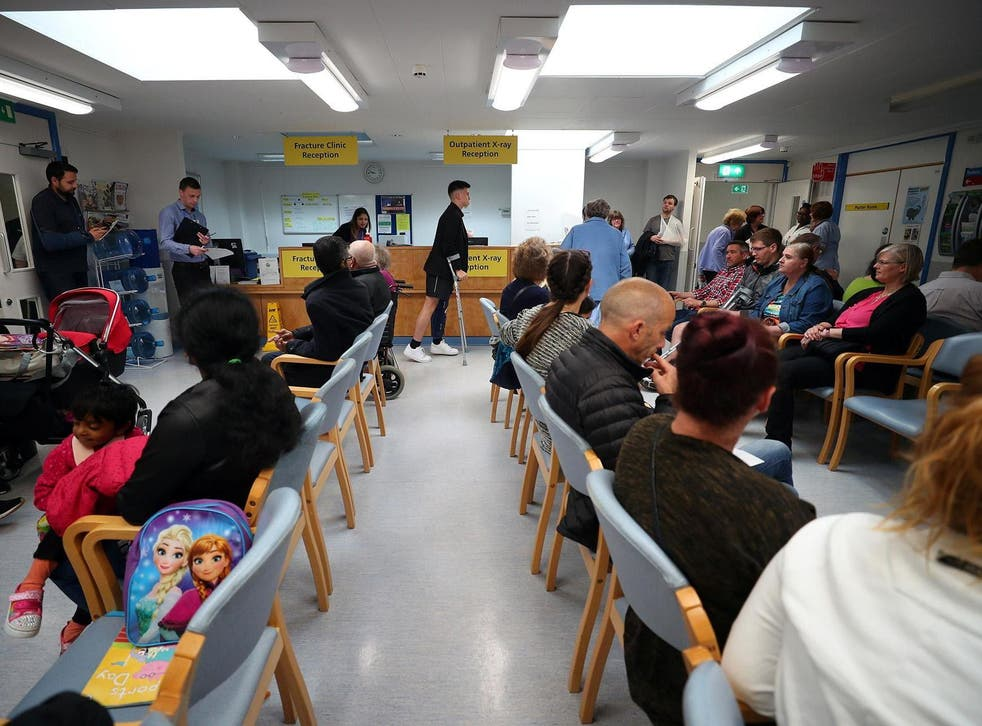 The current standard ensures patients are admitted, treated or sent home within four hours at A&E