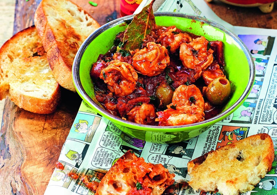 Independence Day 2018 recipes: James Martin's creole-style shrimp to