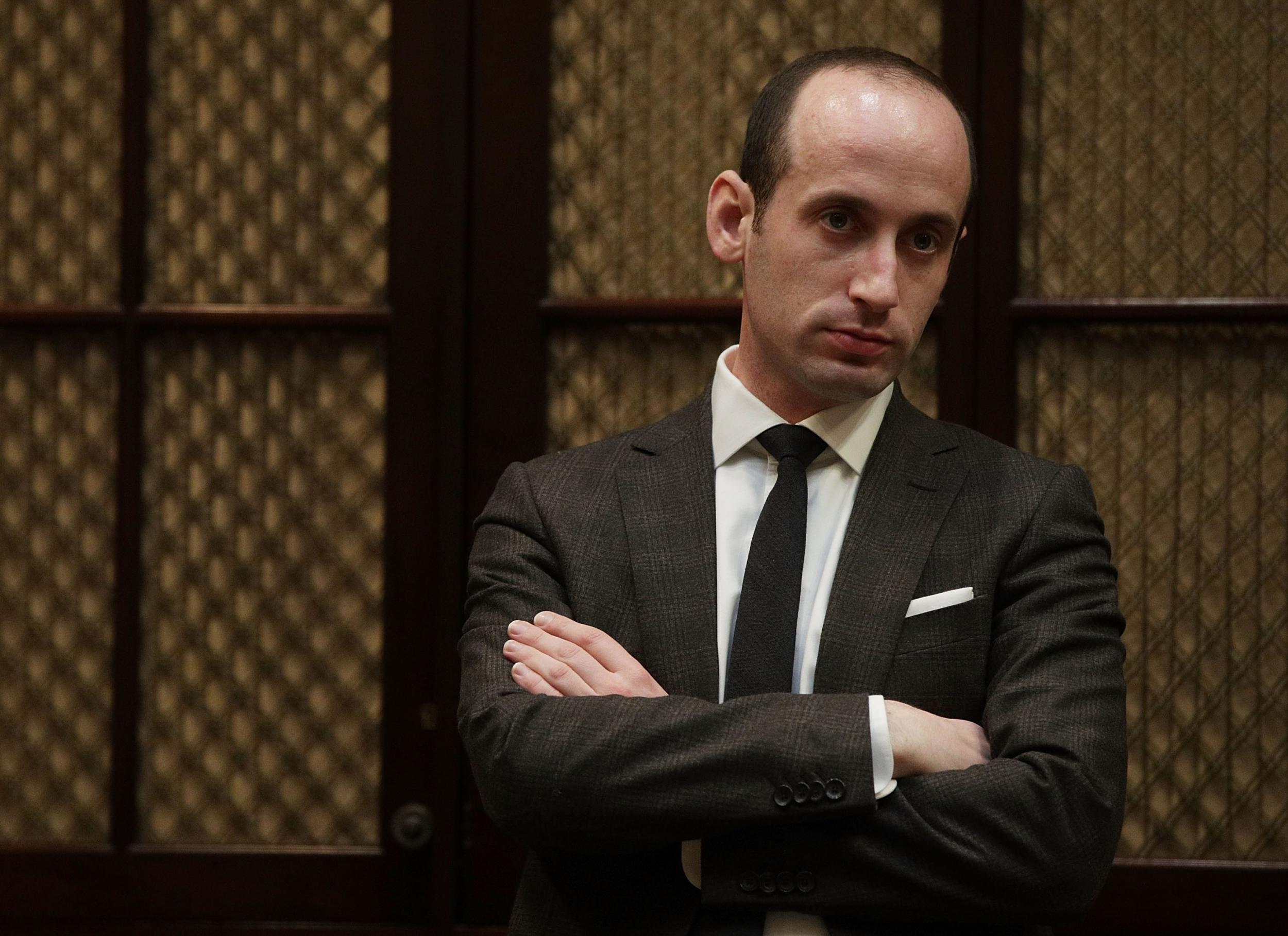 Teacher disciplined for claiming senior White House aide 'ate glue as a kid'