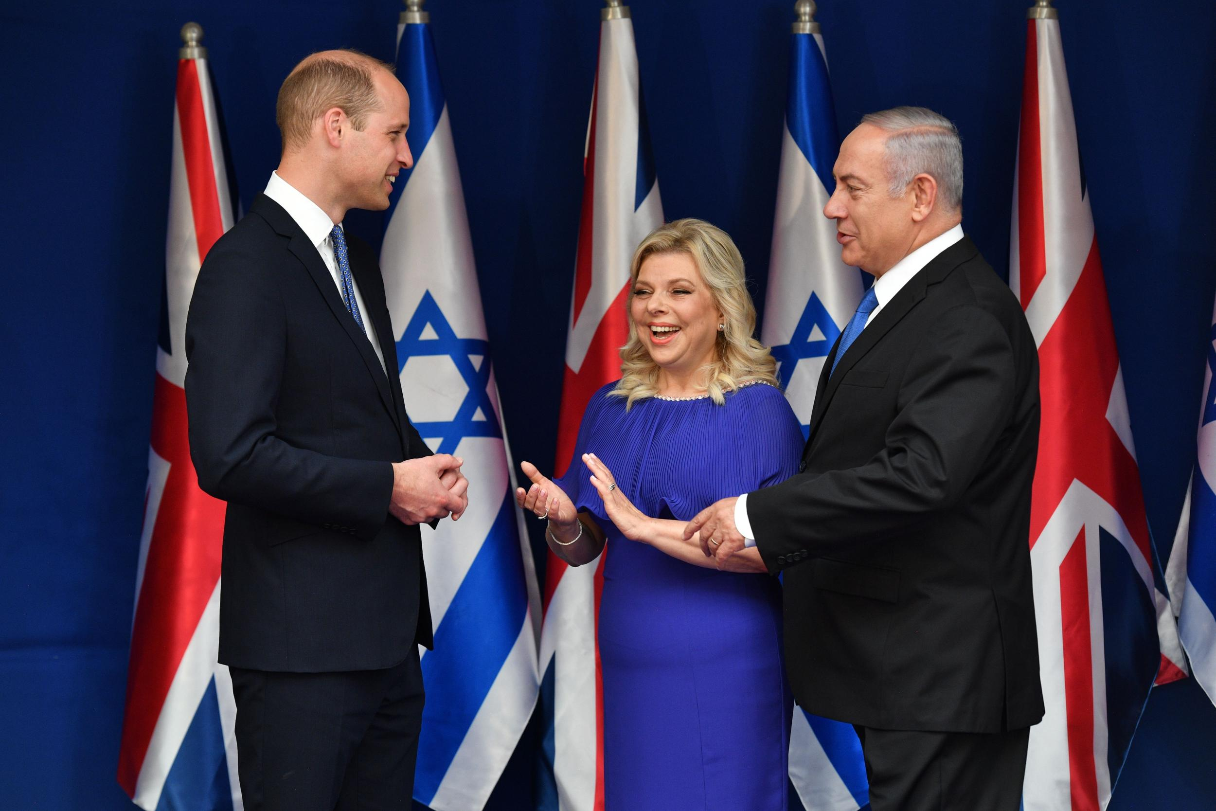 Prince William embarks on first ever royal visit to Israel and Palestinian territories