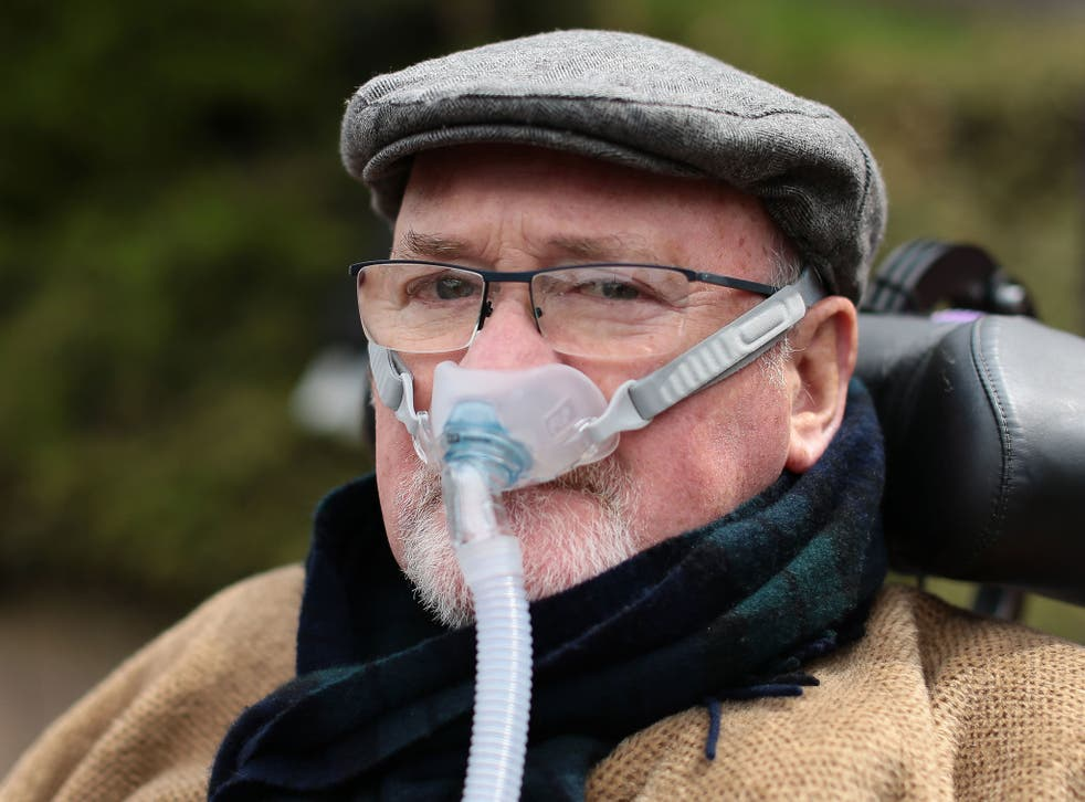 Noel Conway, a terminally ill man, is battling for the right to an assisted death
