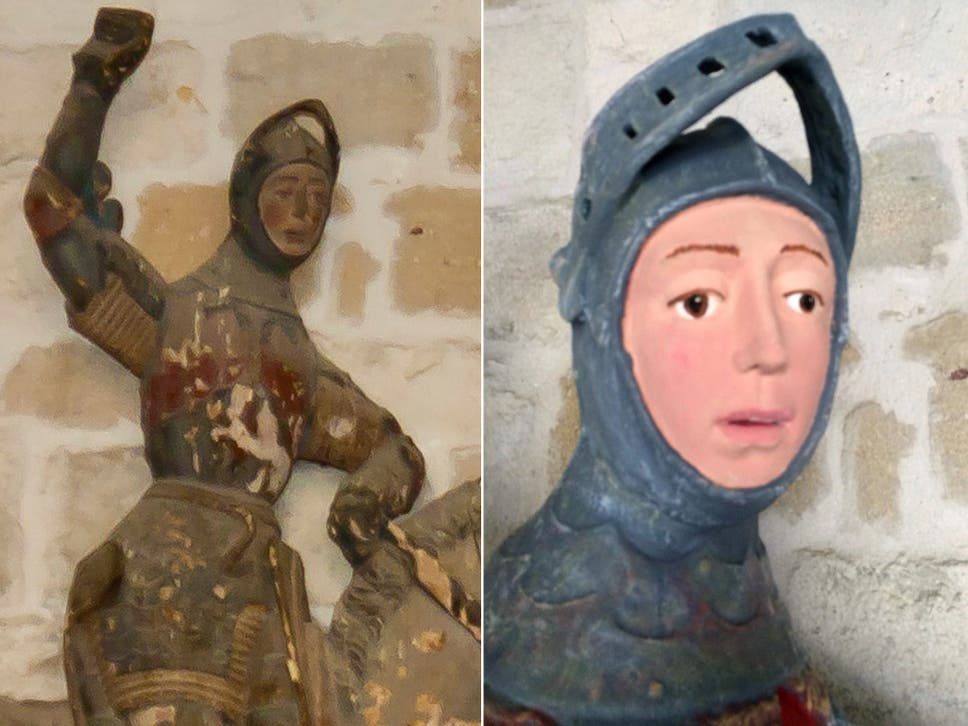 spanish church s 16th century sculpture left looking like disney