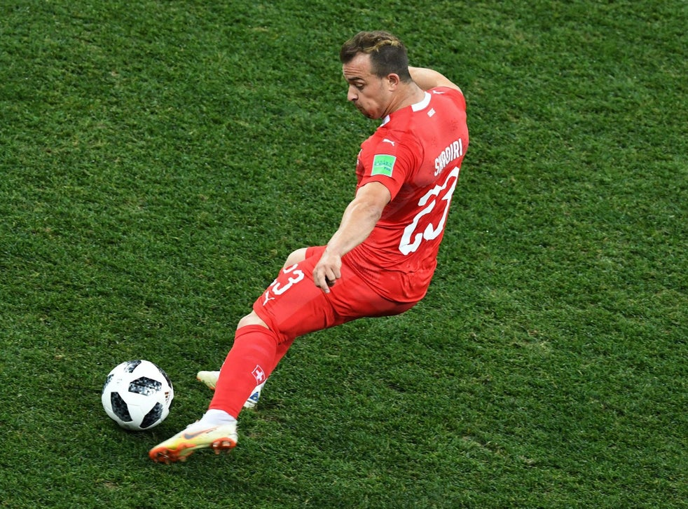 World Cup 2018 Xherdan Shaqiri Takes A Step Back After Week In The Limelight But Remains Intriguing As Ever The Independent The Independent