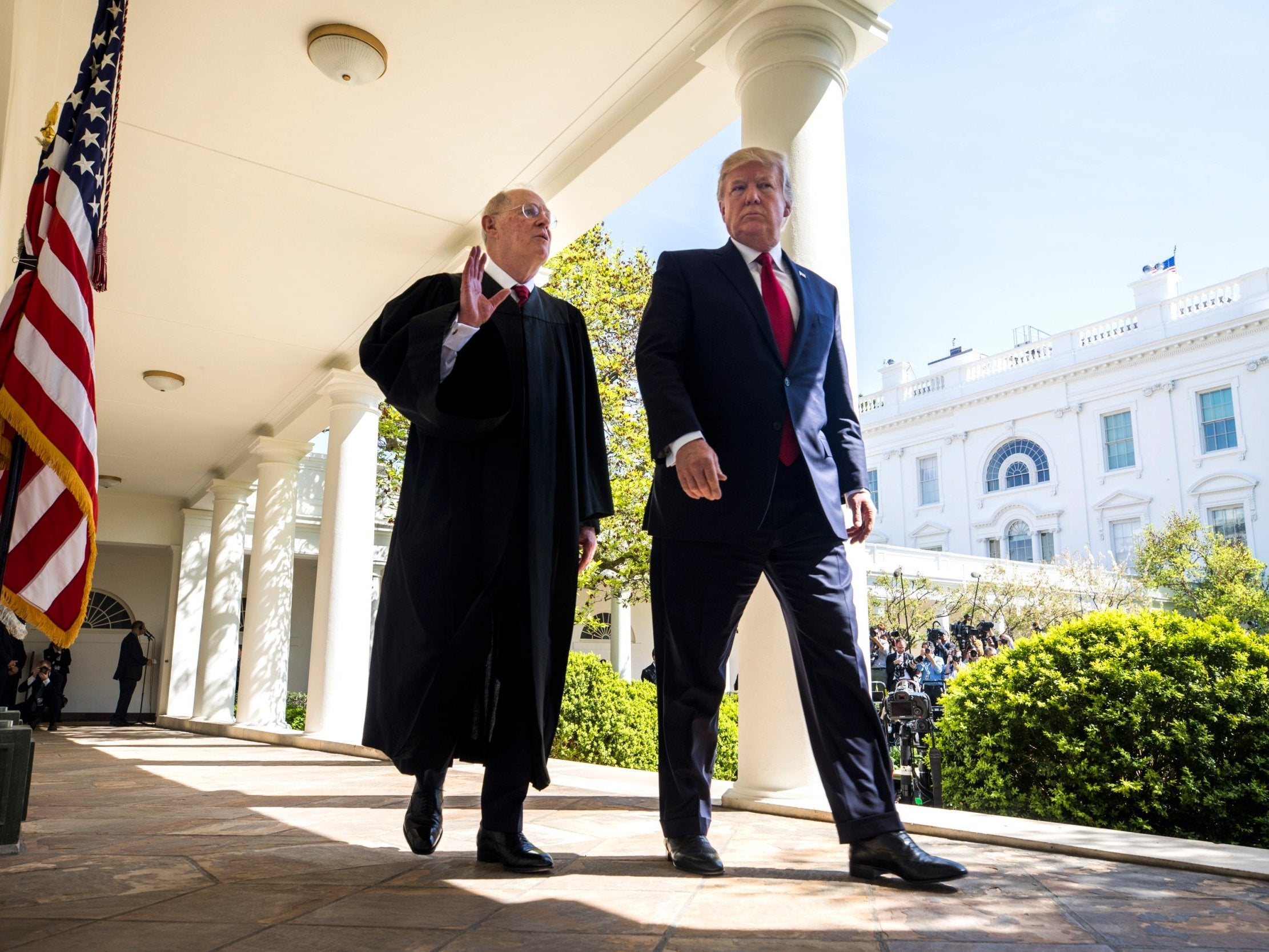 Why the theories about Trump's financial links with the outgoing Supreme Court Justice are riddled with holes