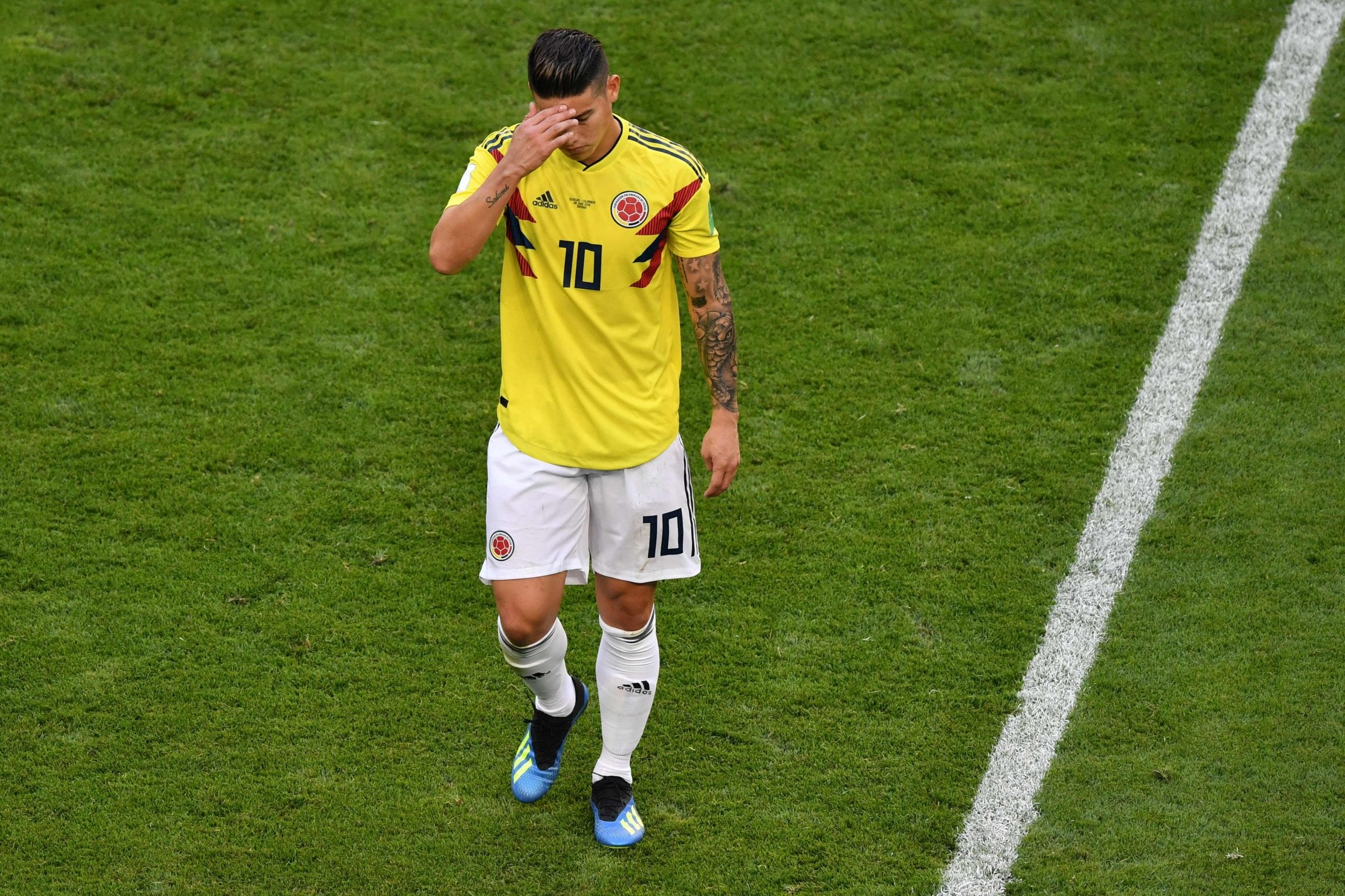 World Cup 2018  Colombia s James Rodriguez a doubt for last-16 clash with  England  83e010c90