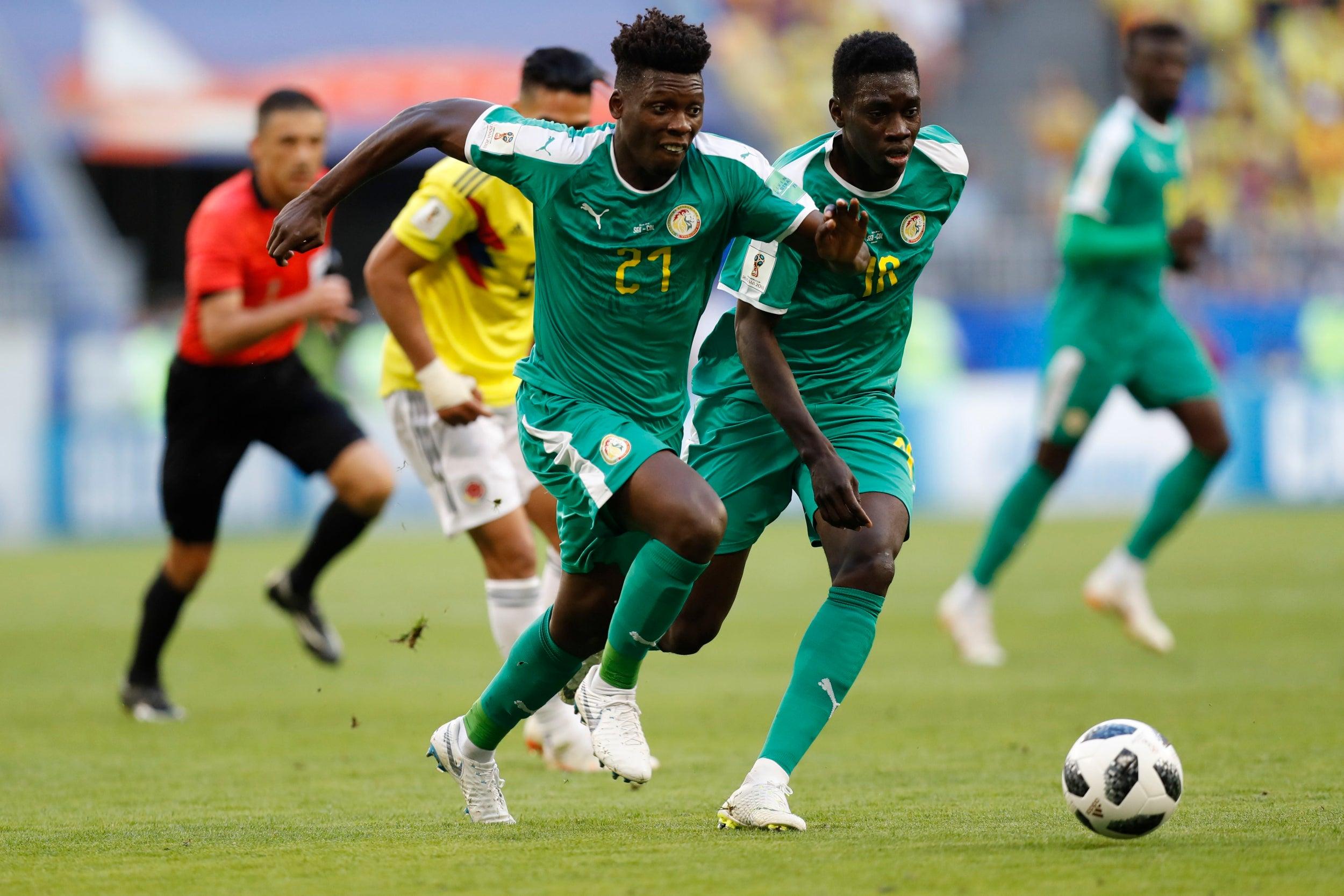 002460db52b Senegal vs Colombia  Like he did in the Premier League Radamel ...