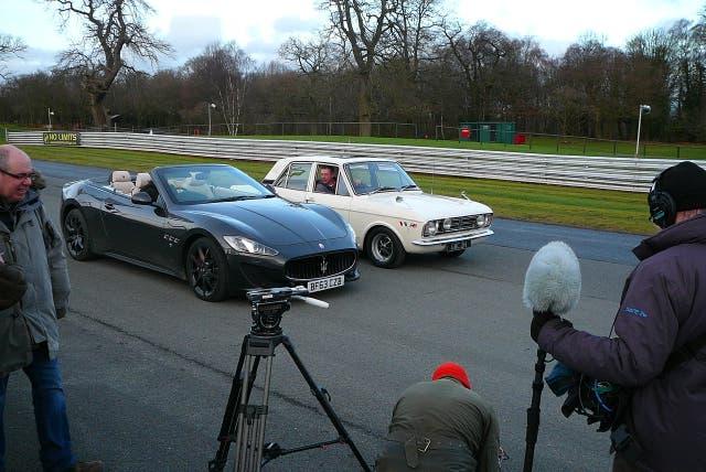 Junto a un Maserati, el coche de futbolista de la Premier League de hoy (