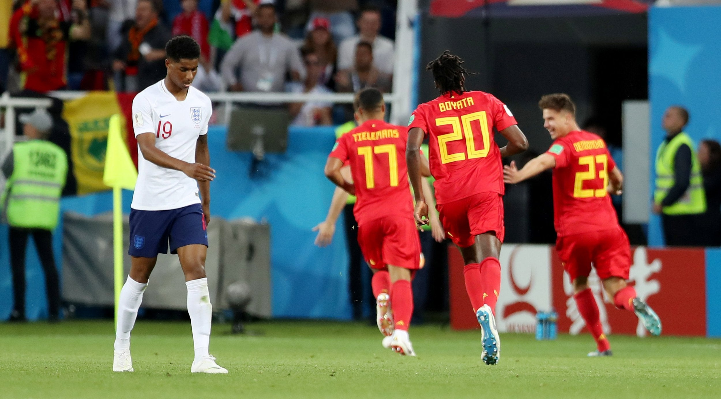 England vs Belgium: Stripped of all meaning this was the ...