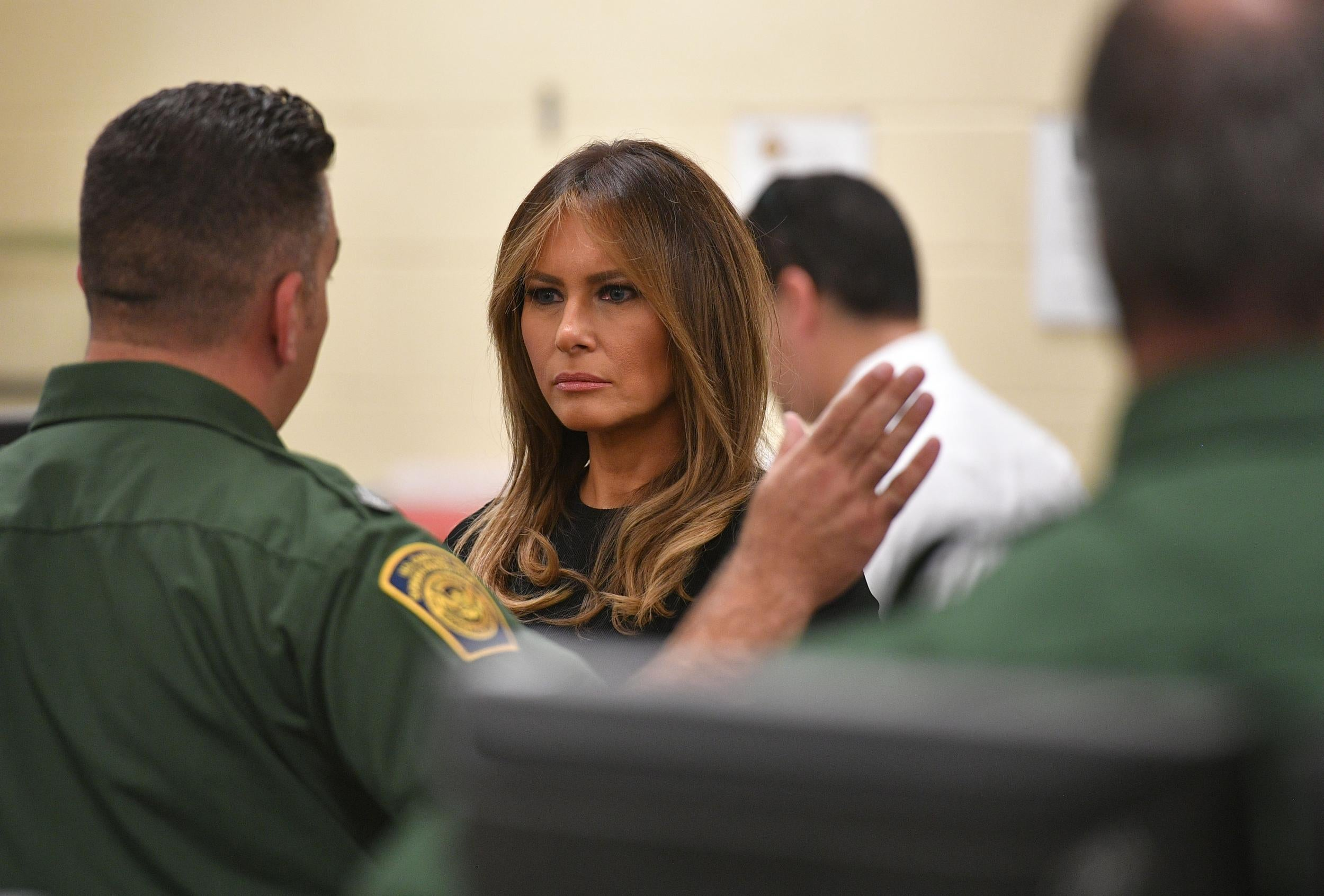 'Oh God': Melania Trump's horror at being shown picture of young boy left at US border