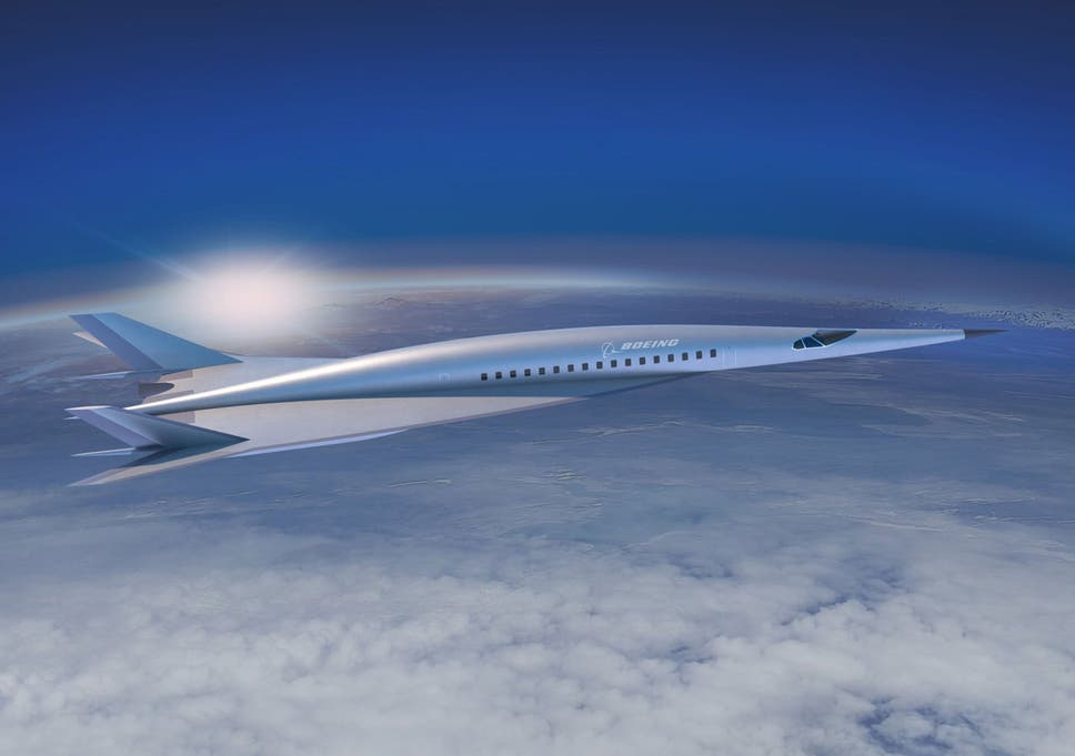 Boeing unveils plans for hypersonic 3,800mph-airliner that