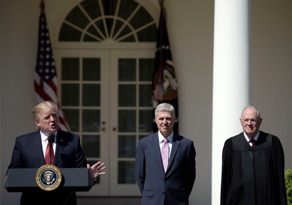 Is the Trump White House behind Justice Anthony Kennedy's