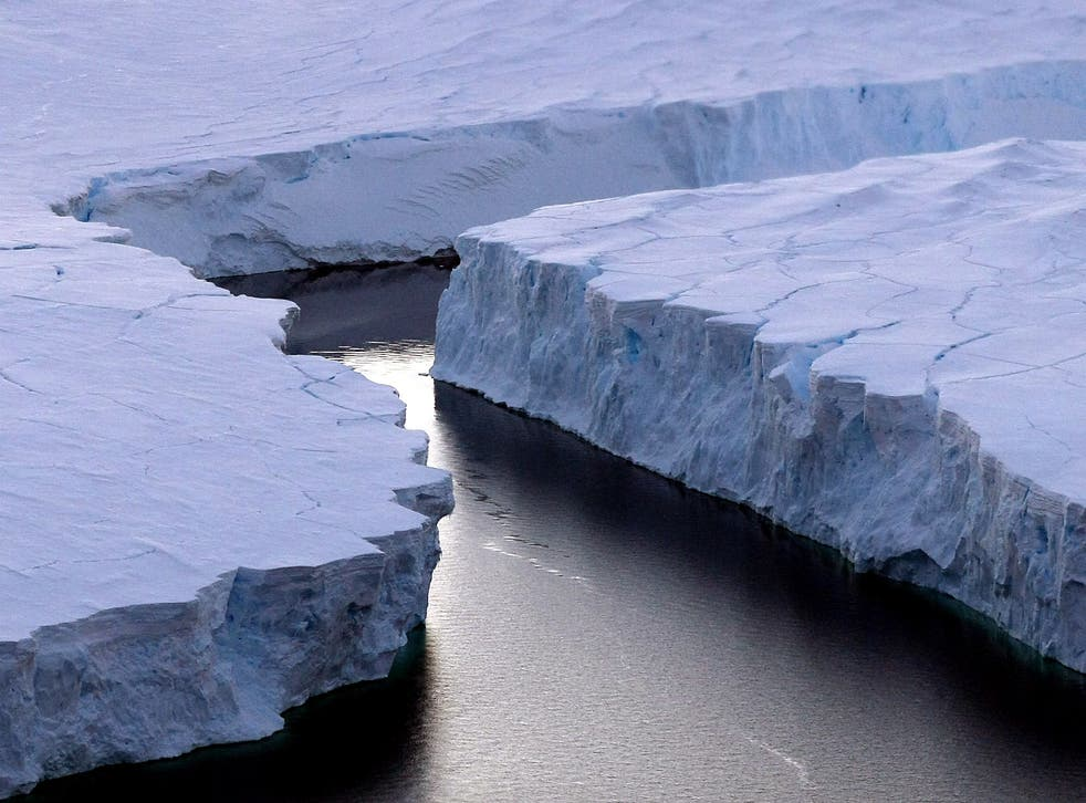 Instability of some Antarctic glaciers may be affected by volcanic activity underneath the ice