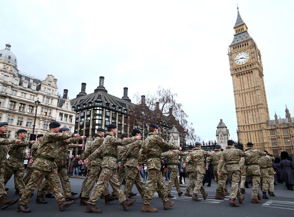 Just 12 per cent of the population would volunteer to fight in a world war
