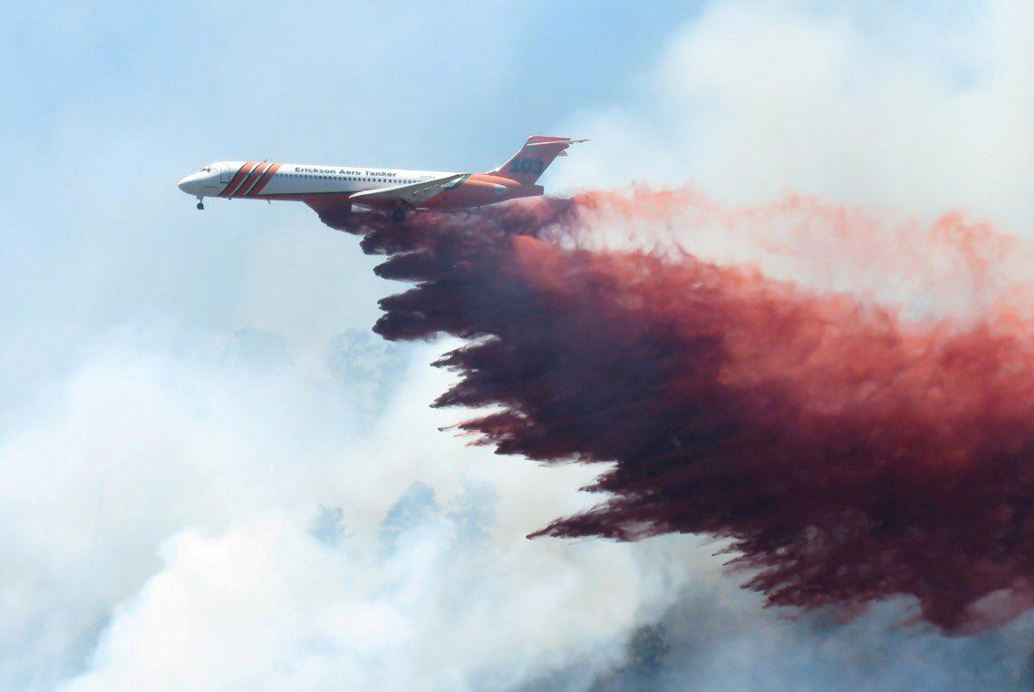 Colorado wildfire: Unmanned aerial vehicles deployed as huge blaze spreads