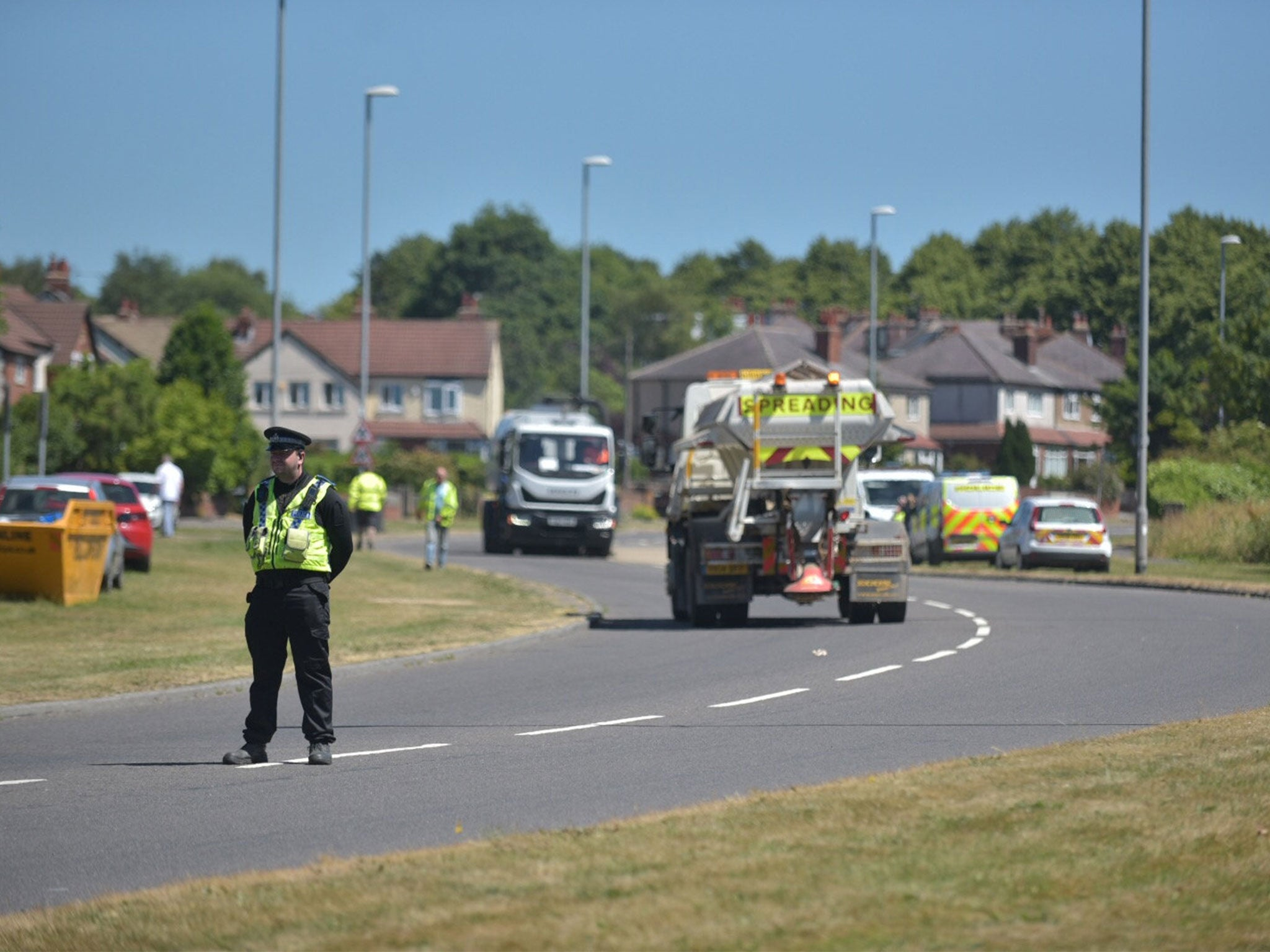 leeds car crash: four men aged between 18 and 21 killed and two