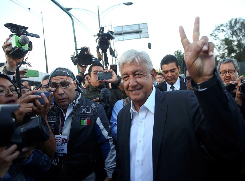Lopez Obrador will face a security challenge if he wins with 130 people killed in the runup to the election