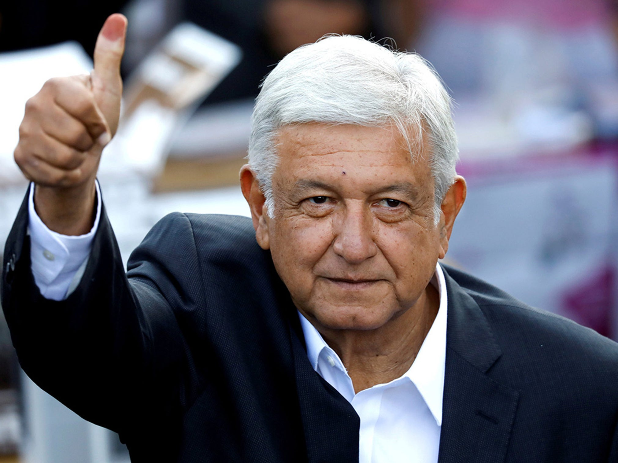 Mexico's president-elect grounded for hours on commercial flight after he refuses to use luxury jet