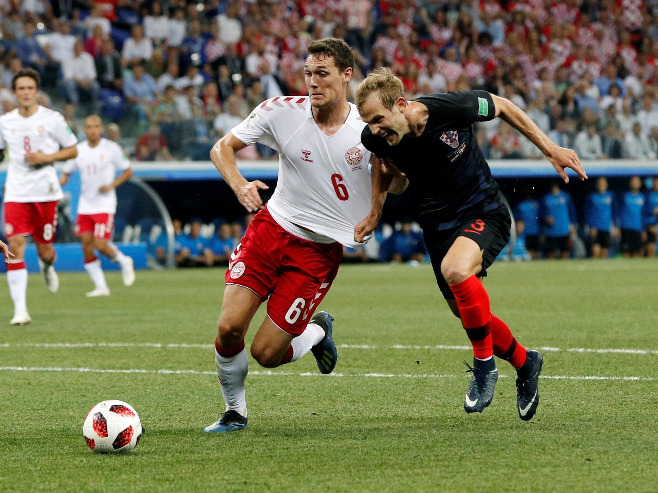 Croatia vs Denmark, World Cup 2018: Andreas Christensen falls flat on his face in midfield audition – scouting report