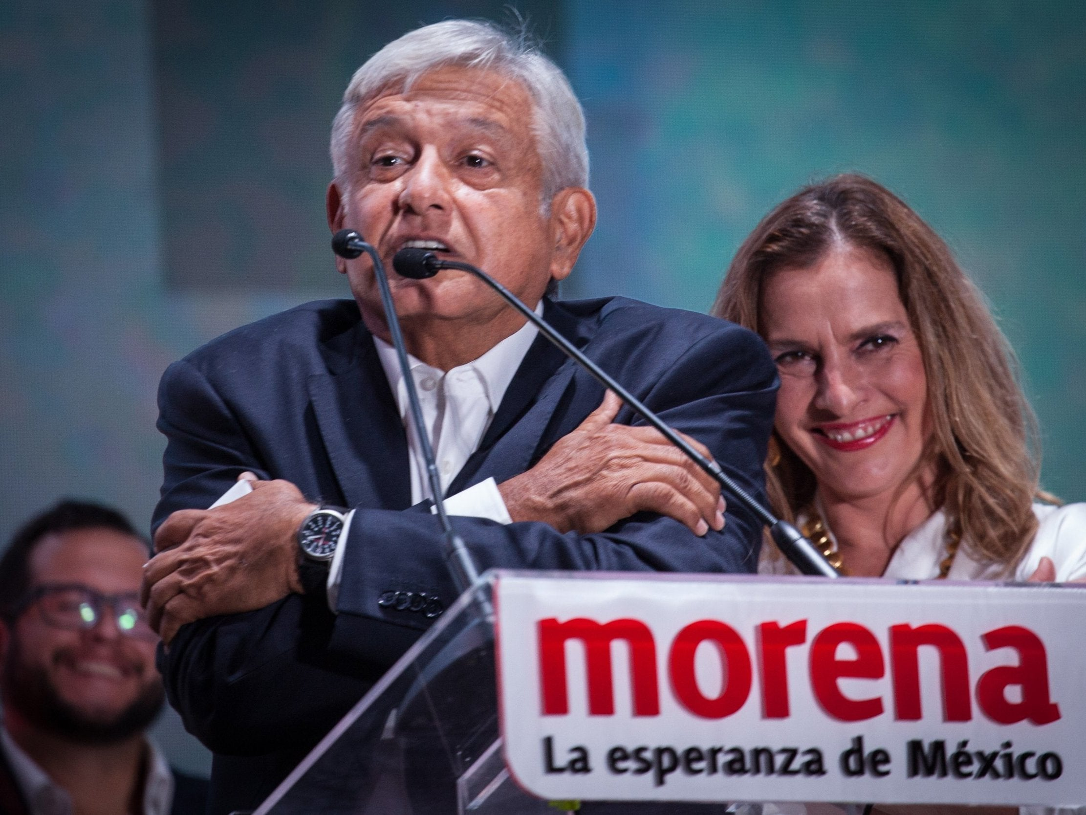 Mexico presidential election: Left-winger Andres Manuel López Obrador claims historic victory