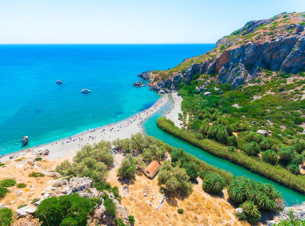 Crete is still warm come October