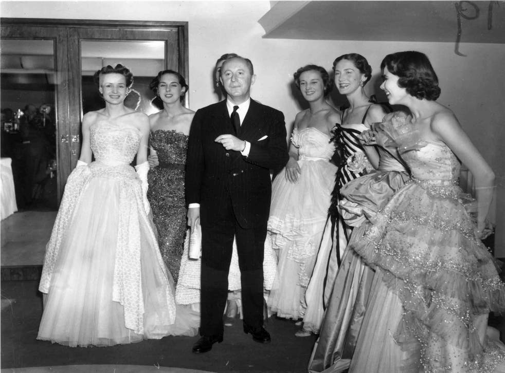 25th April 1950: Fashion couturier Christian Dior
