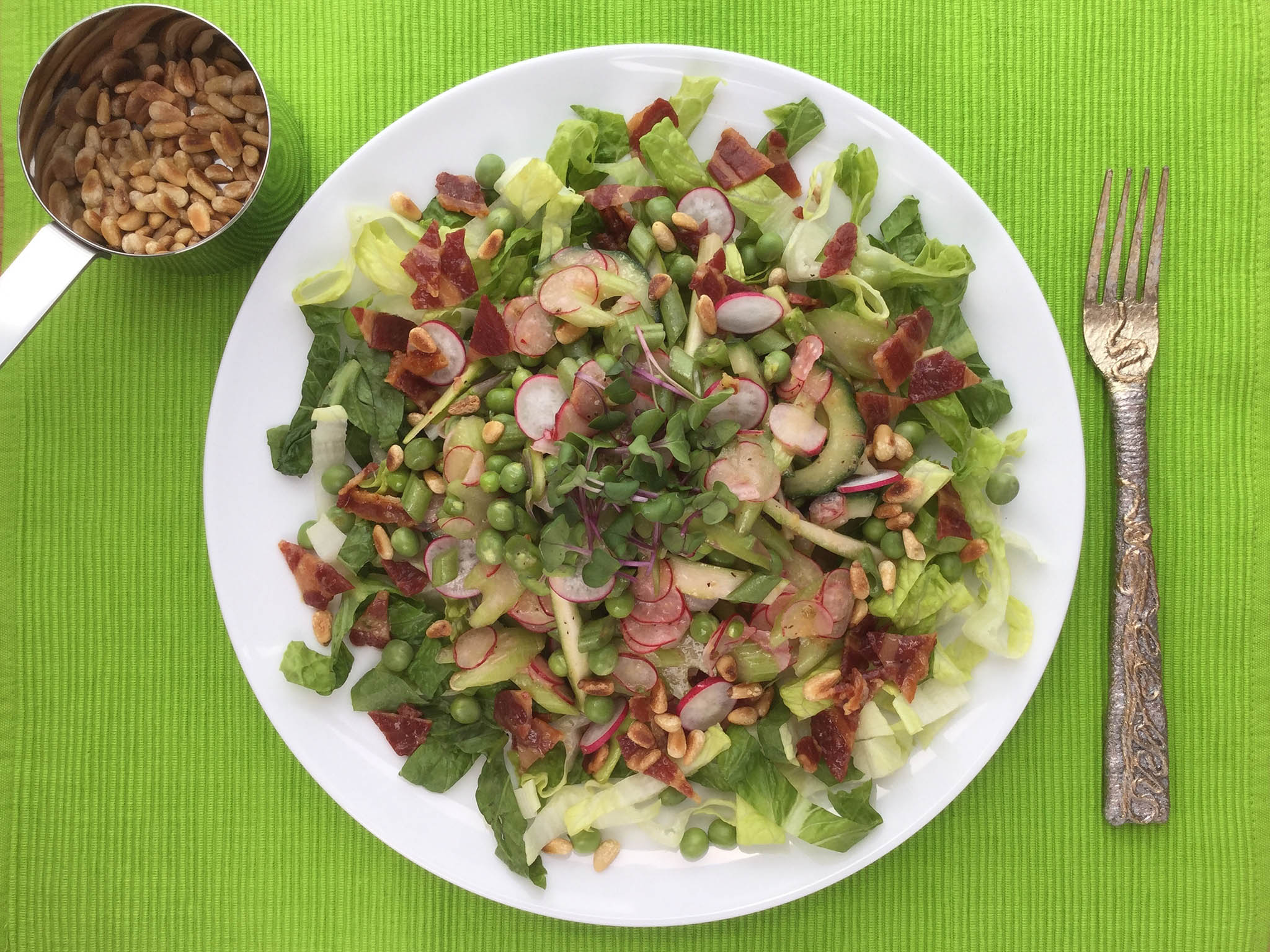 How to make pea, green bean and bacon salad | The Independentindependent_brand_ident_LOGOUntitled