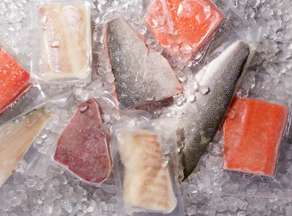 Frozen fish is a win for customers and the environment