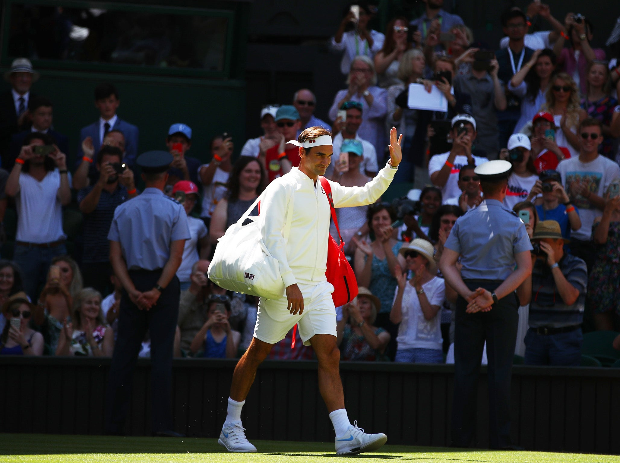28acb479392bbd Wimbledon 2018  Why Roger Federer has signed deal with new sponsor Uniqlo  and is no longer wearing Nike