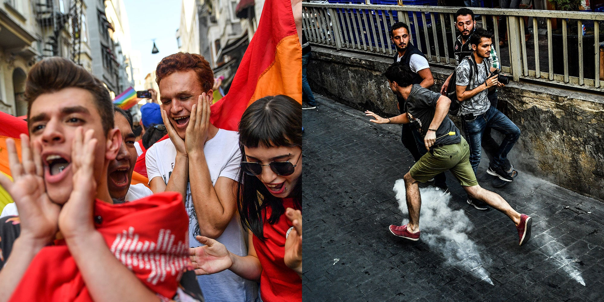 Clashes In Montenegro During Gay Pride March