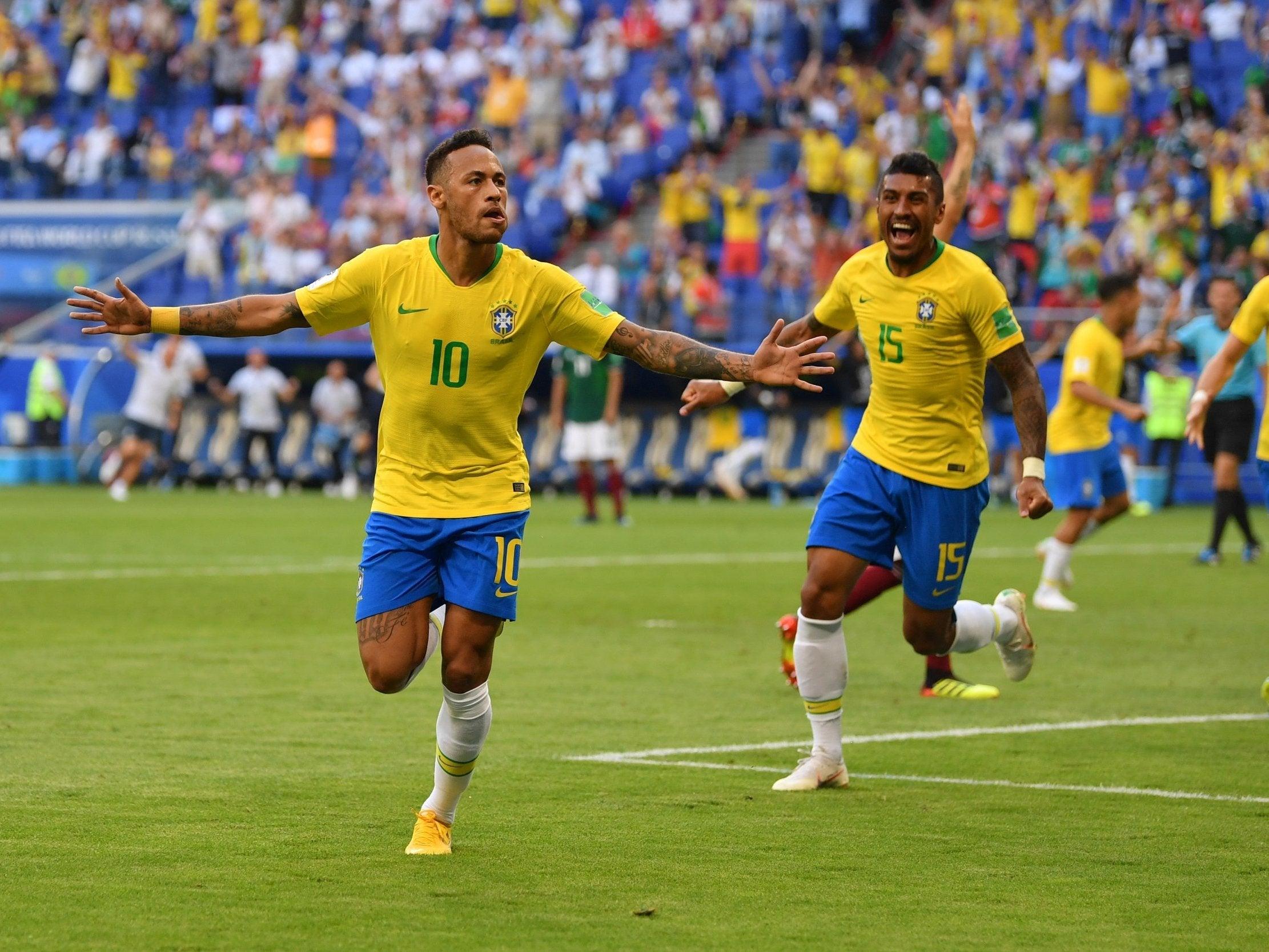Brazil vs Mexico, World Cup 2018: Neymar steps up to lead ...