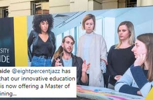 This Mansplaining Advert Outside An Australian University Is Getting