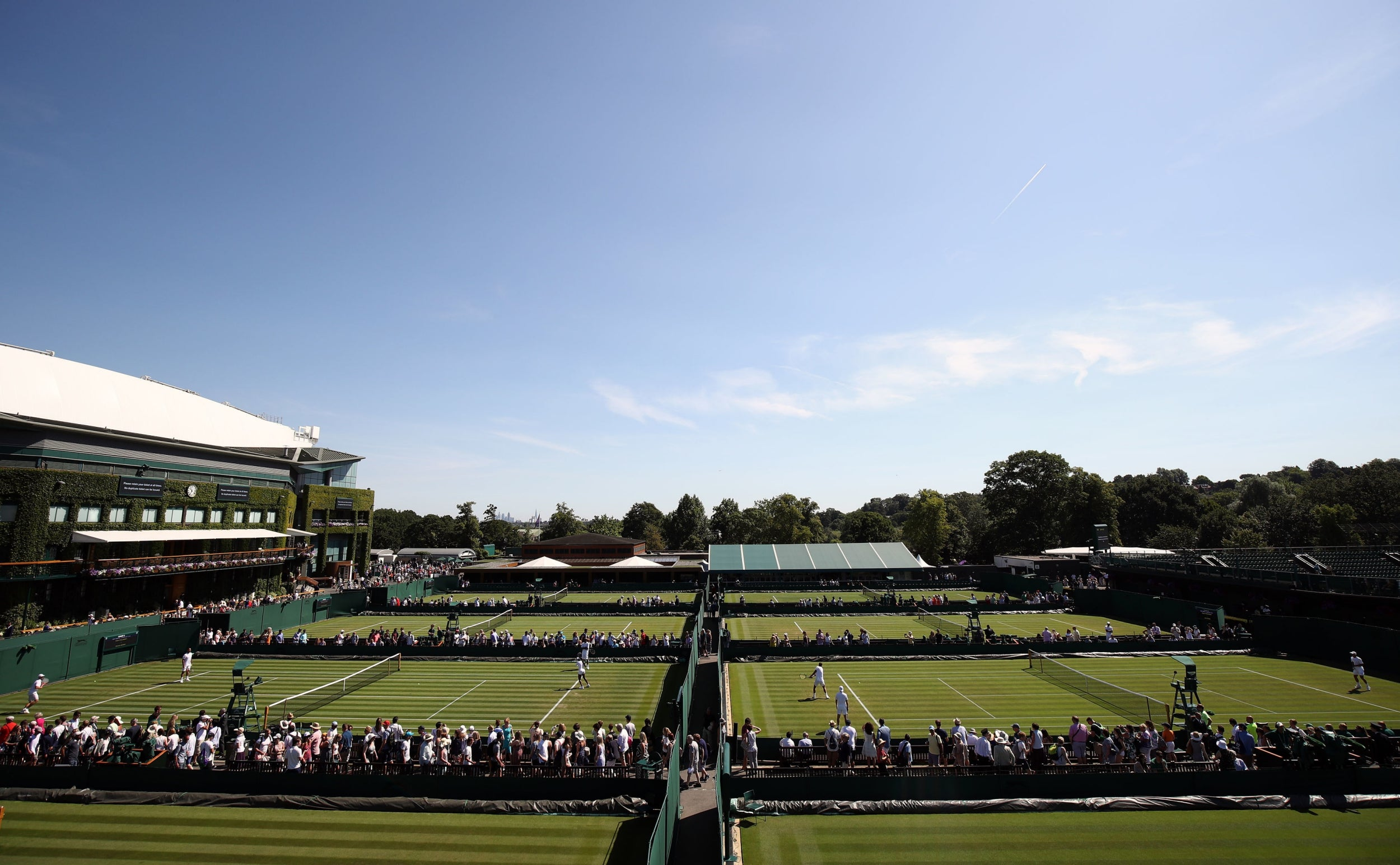 Ball-game theory - To get a ticket to Wimbledon you must be rich ...