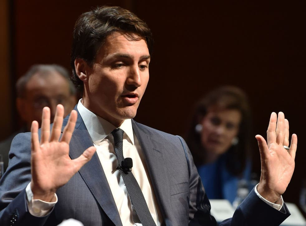 Justin Trudeau has previously spoken out about the 'systemic problem' of sexual harassment