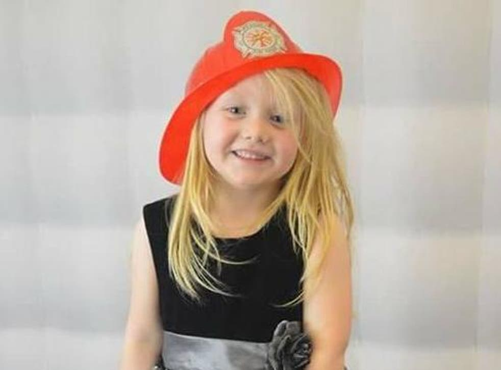 Six year-old Alesha MacPhail was reported missing on Monday morning.