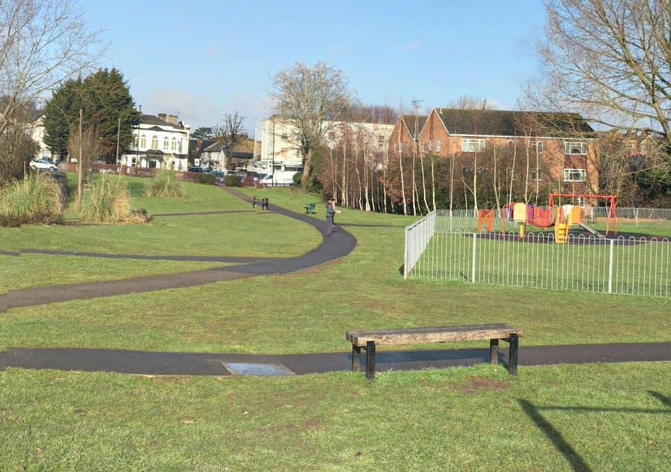 Man shot next to children's playground in London | The