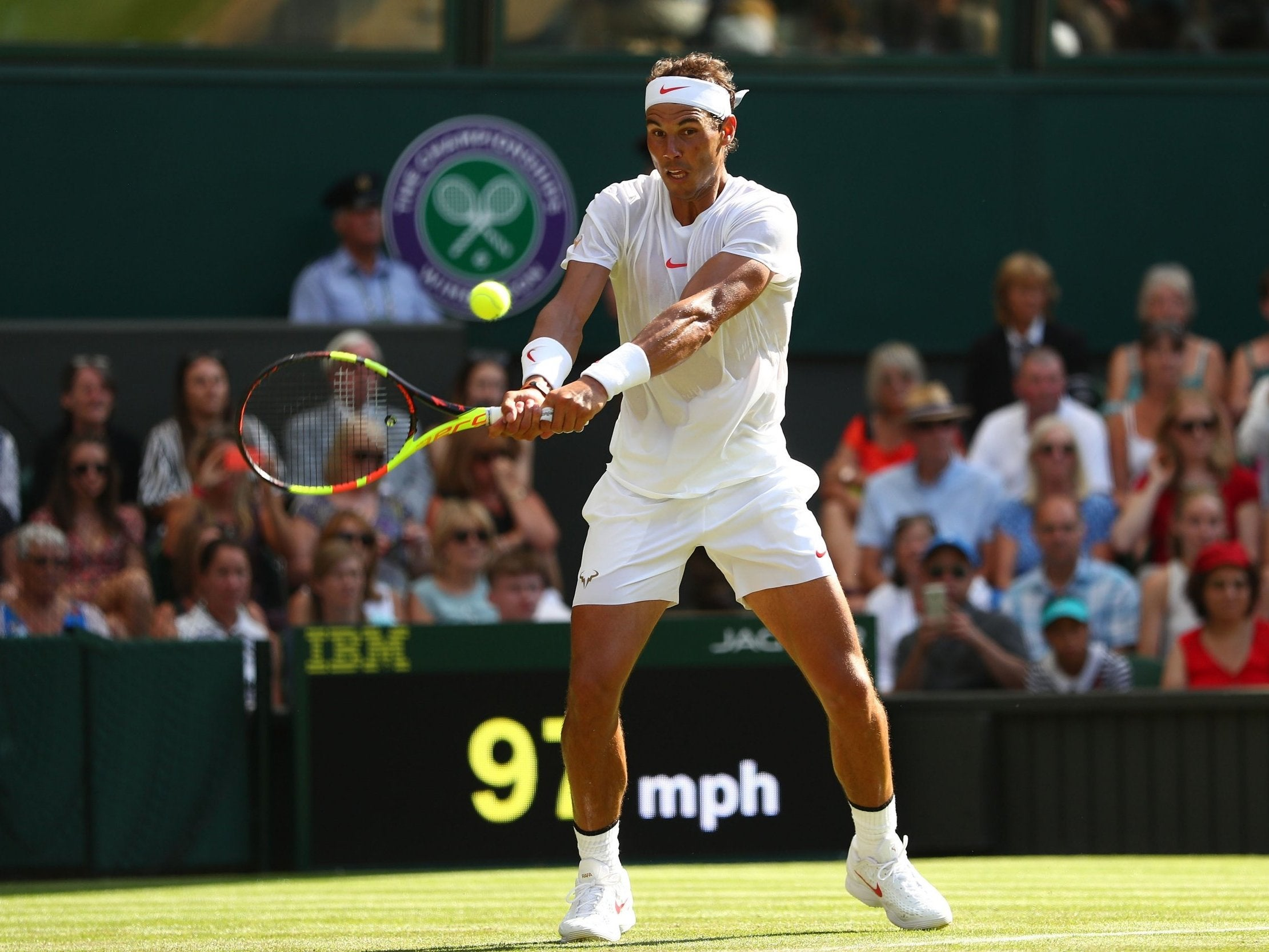 Wimbledon 2018 Rafael Nadal Brings Own Inimitable Style To Grass Court Season And Will Rival Roger Federer The Independent The Independent