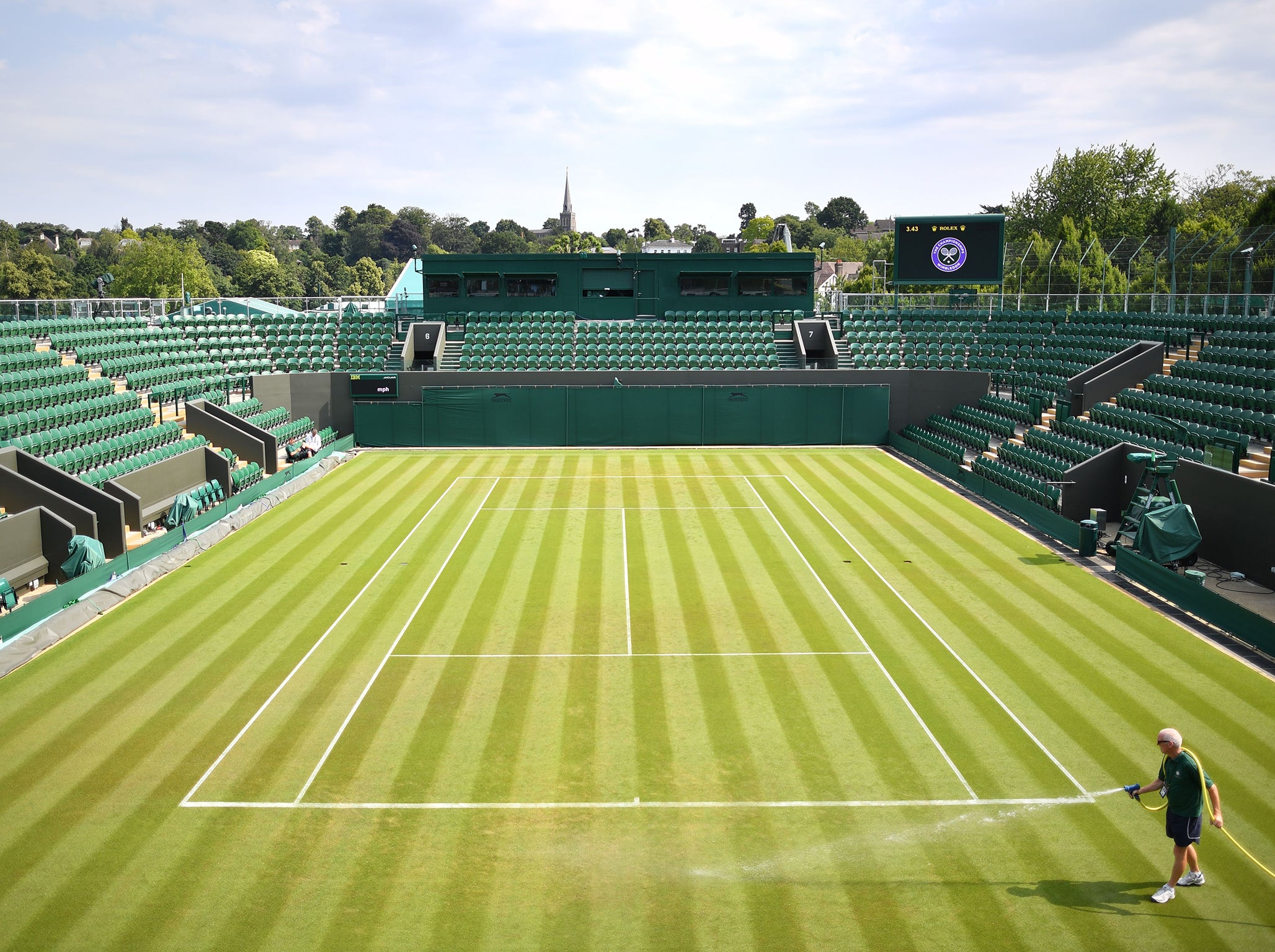 wimbledon order of play 2018 day 3 schedule dates draw. Black Bedroom Furniture Sets. Home Design Ideas