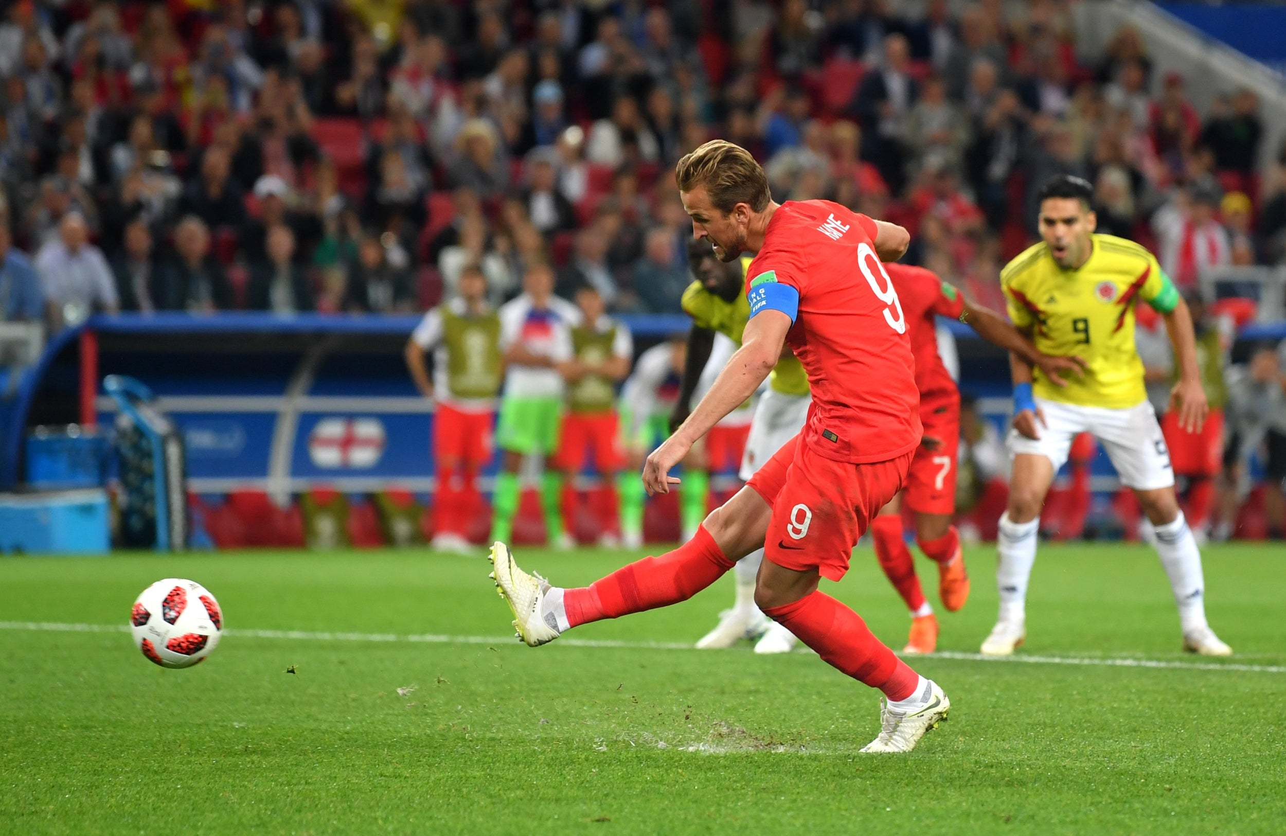 Image result for kane goal vs colombia
