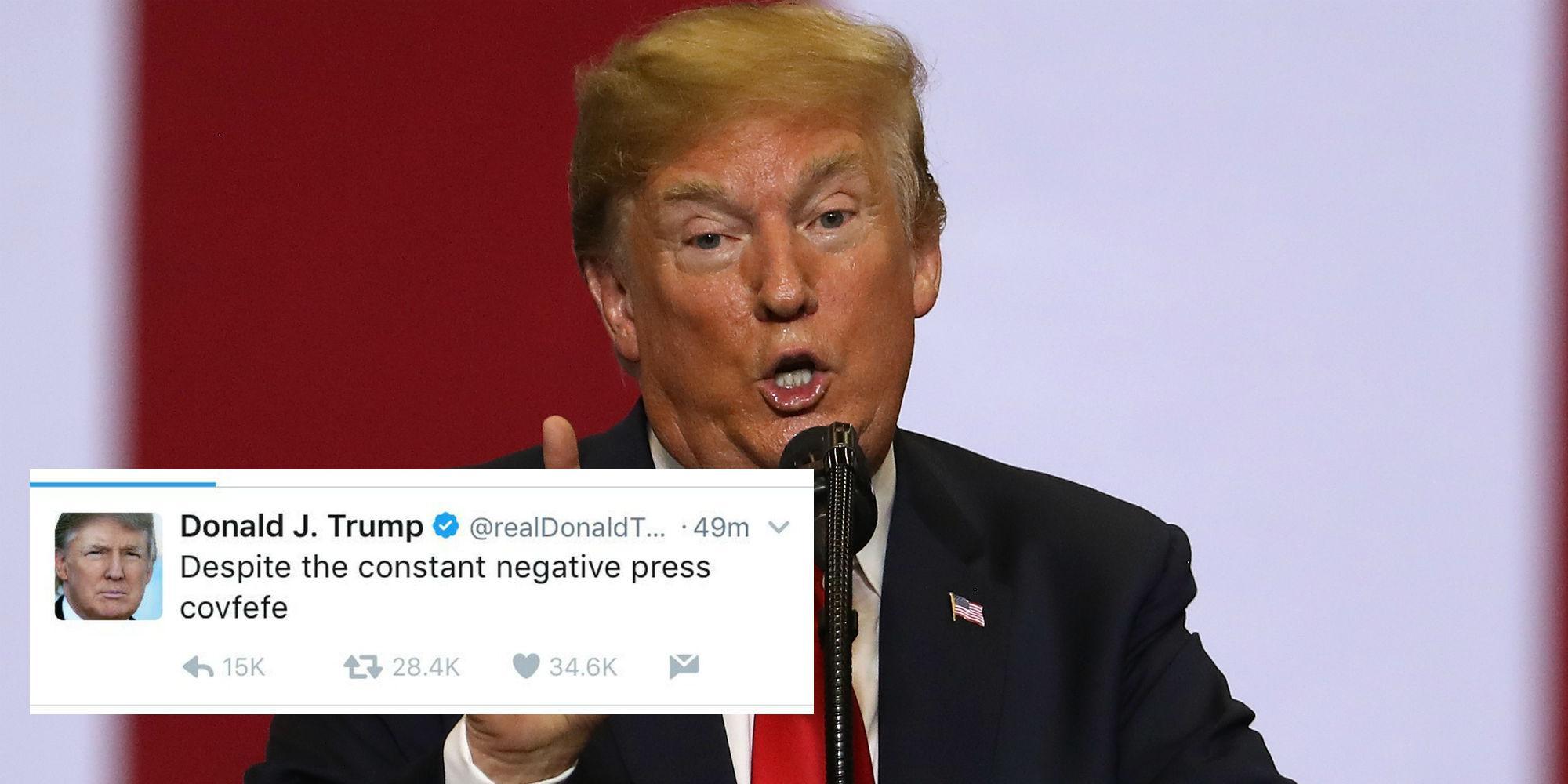 Trump gets embarrassed by tweet!