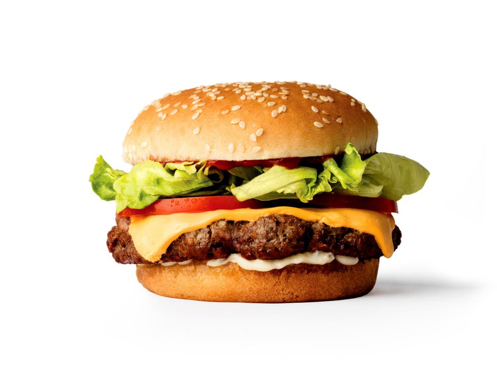 The 100% plant-based burger looks and tastes like a hamburger