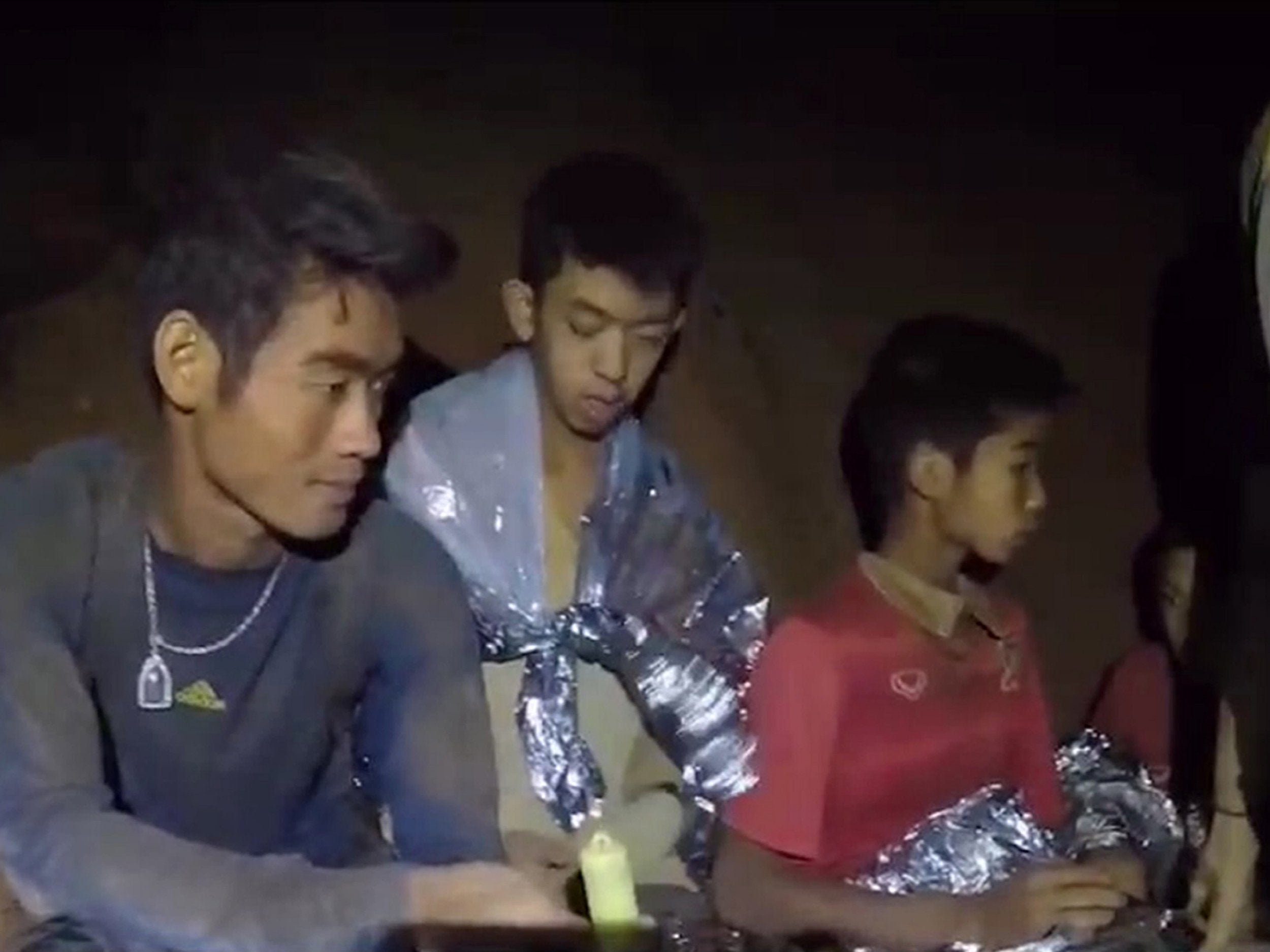 Fifa president invites boys trapped in Thai cave to attend World Cup Final if they are rescued in time