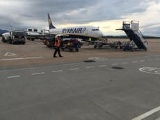 Ryanair cabin crew demand 'fair living wage'