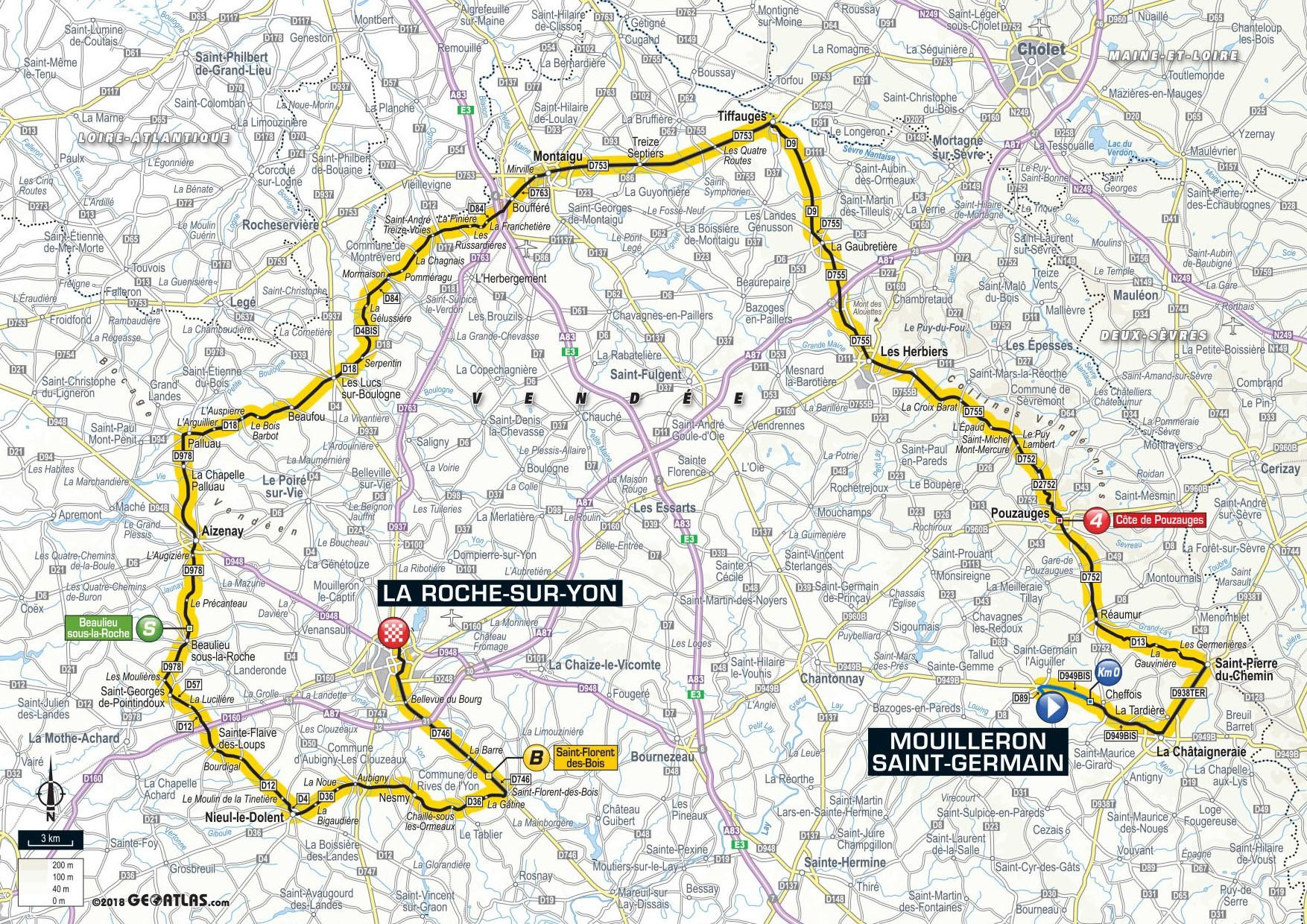 tour de france 2018: stage-by-stage guide of the routes, profiles