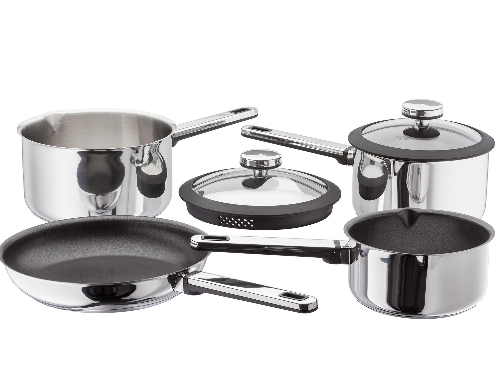 Best saucepan set built for durabilty and non-stick qualities